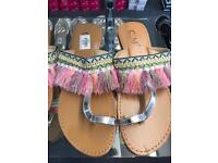 Brand new Ladies sandals available in all sizes