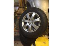 merc ml320 (w164)wheels x4