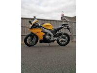 APRILIA RS4 50 17 PLATE IMMACULATE CONDITION