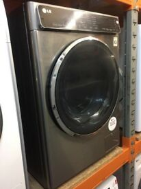 LG 8KG STAINLESS STEEL TOUCH CONTROL WASHING MACHINE
