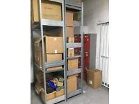 Boltless Galvanised Warehouse / Store Shelving (BITO)
