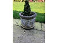 X2 plant pots