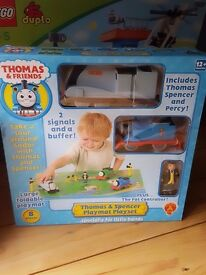 Thomas tank engine playset