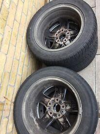 4 16inch BMW wheels