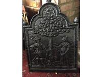 Fire place wall plate/guard