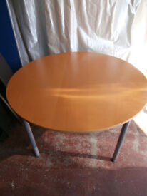 Birch round table (delivery)