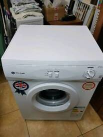 White knight tumble dryer 60cm wide as new vented