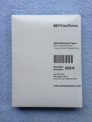 625-0 Pitney Bowes Genuine Postage Meter Tapes Original Pitney Bowes