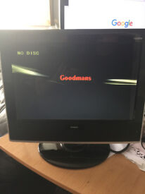 TV HD With Built in DVD Player