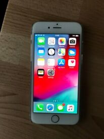 Apple iPhone 6 silver 16gb o2(new battery)