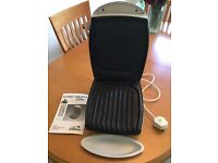 George Foreman Lean Mean Fat Reducing Grilling Machine - with drip tray and manual