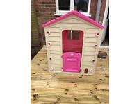 Pink play house