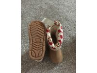 Brand New Girls Next Ugg Style Boots