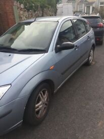 Ford Focus, mot may 2018, excellent runner, 205reg, please ask for any info