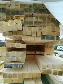 2x2 Planed (44mm x 44mm) 4.8mtr Lengths