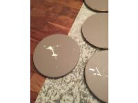 Ikea Lazy Susan (9 available), part painted