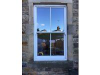 Wooden sash windows and upvc door for sale