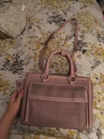 Zara pink ladies bag