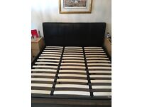 SuperKingSize Full leather bed - IMMACULATE Condition - REDUCED !!!