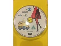 Minions DVD + Pinocchio ( the adventures of Pinocchio)