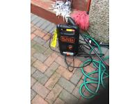 New Black & decker power washer