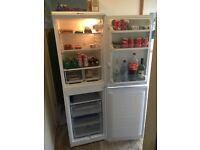 Family sized Hotpoint polar white fridge freezer