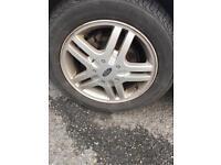 "Ford alloy wheels 15"""