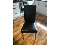 Six dining chairs for sale