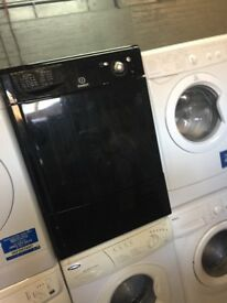 black indesit condenser tumble dryer 8kg family load in excellent condition in full working order