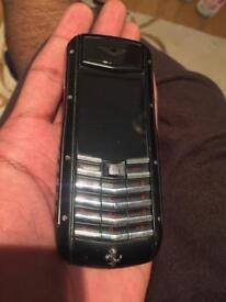 Limited edition Vertu Ferrari phone