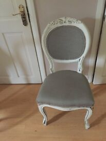Dining chairs balloon back x 2