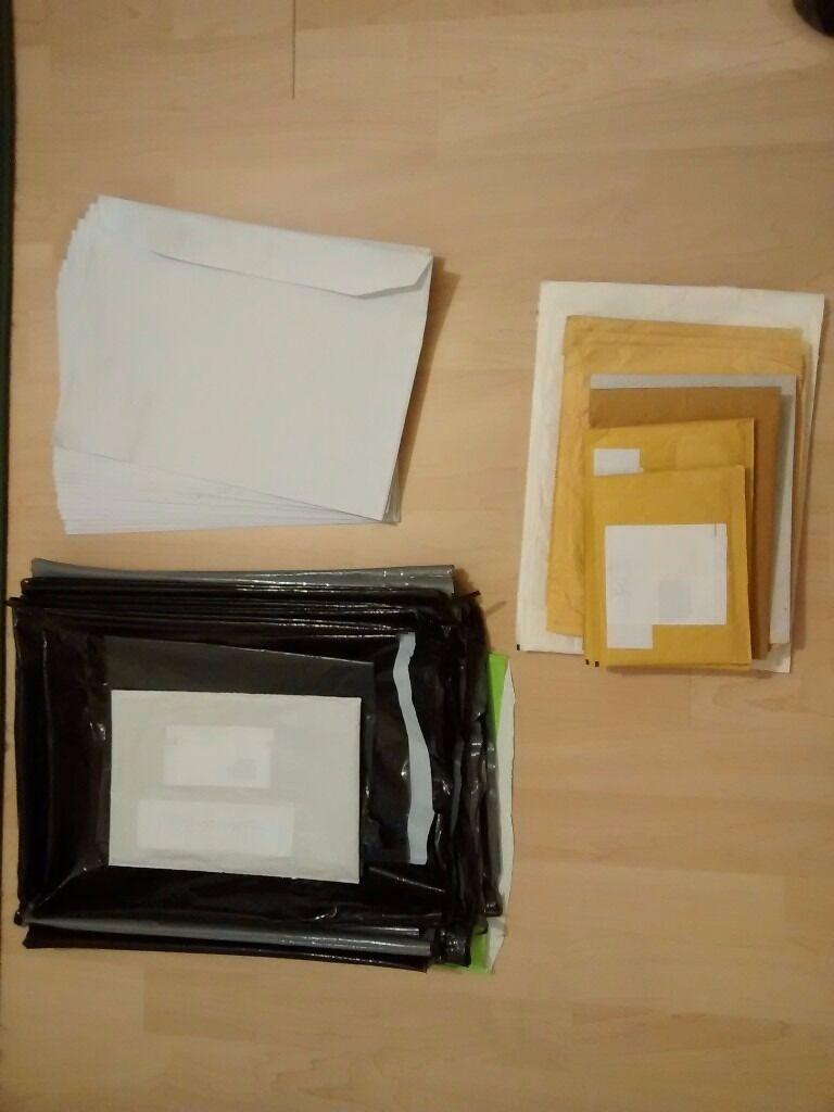 ENVELOPES /'ALL SIZES/' 24h DEL GOLD GENUINE JIFFY BRAND PADDED BAGS WHITE