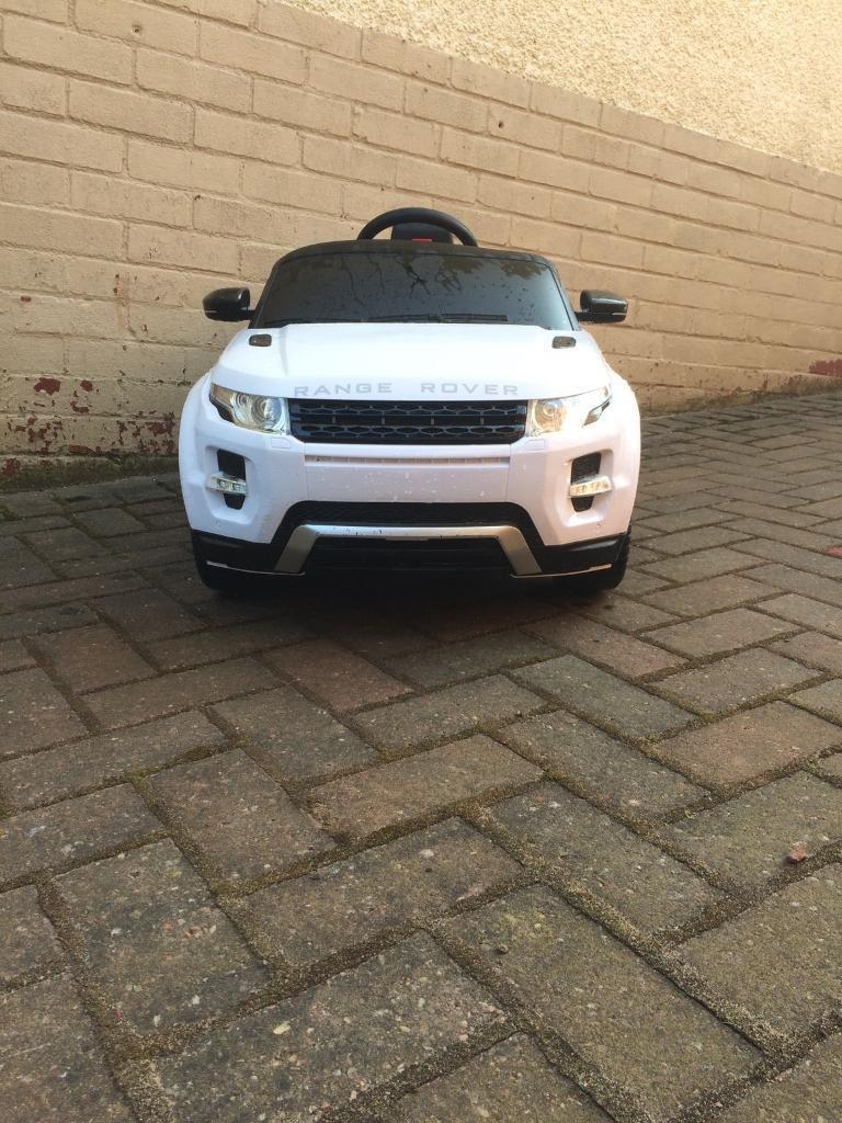 Range Rover ride on