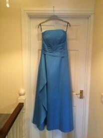 Forever Yours Blue Prom / Bridesmaid Dress