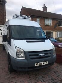 2008 ford transit van, refridgeated in very good condition