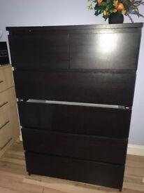 Ikea drawer set