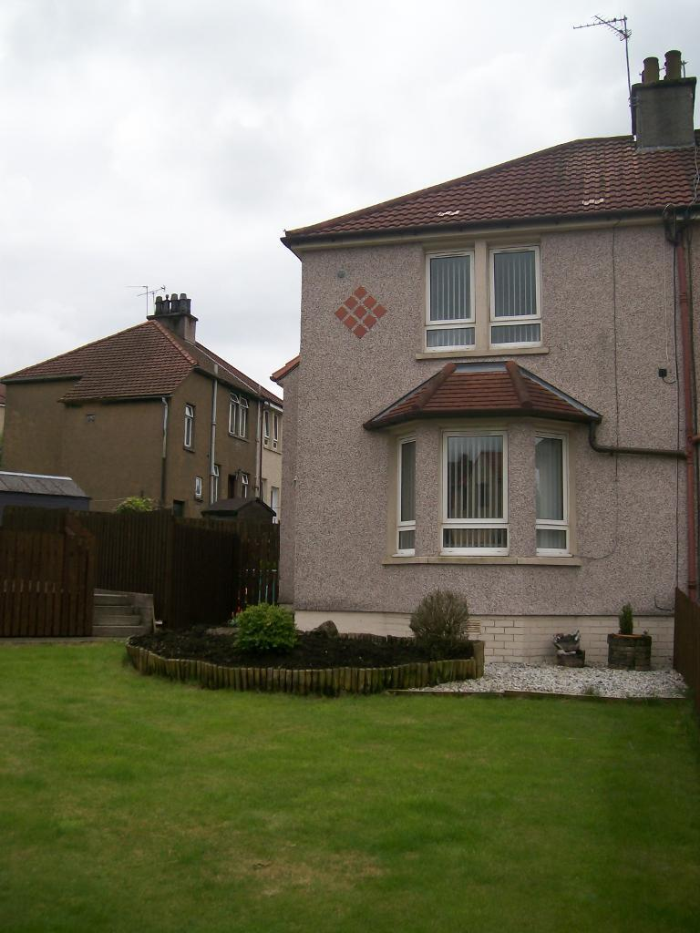 two bedroom semi detached house for rent kilsyth in