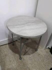 Habitat side table - contemporary concrete top
