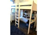 //(%)\ STOMPA HIGH BUNK BED WITH DESK