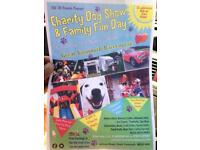 Charity fun dog show with family funday