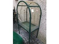 Large parrot cage on castors in good clean condition £60