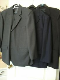 three mens suits