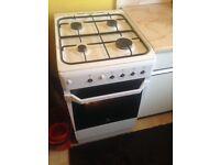 Gas indesit cooker beko fridge freezer