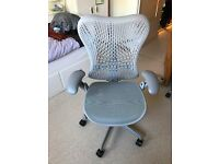New-like Herman Miller Mirra desk chair, with 9+ years of warranty