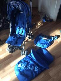 ISafe pushchair with extras