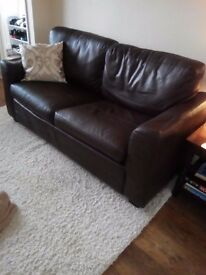 Leather sofa bed FREE