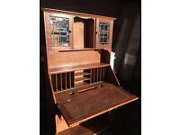 OLD TALL WRITING BUREAU UNIT DRAWERS - CAN DELIVER