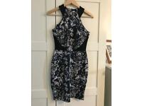 Beautiful navy white and black size 8