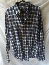 Mens abercrombie and fitch checked shirt