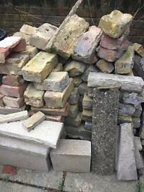 Mix of bricks